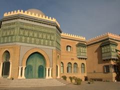 Exterior of Dar Charait Museum complex