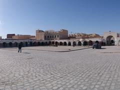Panoramic vista of Douz