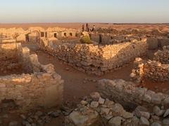 The ancient Roman fort of Tisavar; Ksar Ghilane