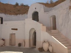 Matmata is famous for its troglodyte underground rooms