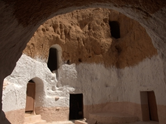 Another view of troglodyte dwellings