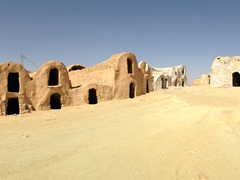 Panorama of Ksar Hallouf