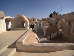 We were shocked that we were the only 2 tourists exploring Ksar Hadada