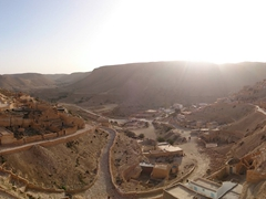 Sunset view over this obscenely picturesque Berber village