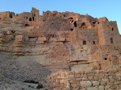 Approximately 80 Berber families still inhabit the ancient village of Chenini