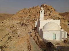 Chenini's pretty white mosque