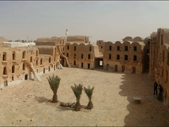 Panoramic view of Ksar Ouled Soltane
