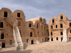It was lovely exploring Ksar Ouled Soltane, truly one of the most spectacular of the region's ksours