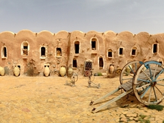 The lovely Ksar Ouled Debbab
