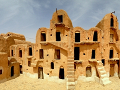 Our next stop was the fantastic Ksar Ouled Soltane, one of the region's tallest ksours at a towering 4 storeys!
