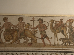 Men and beasts paraded to the Roman amphitheater of Thysdrus to meet their fate