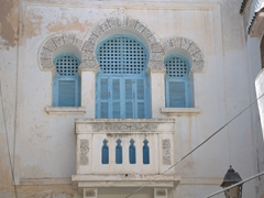 Eye catching window and balcony in the medina