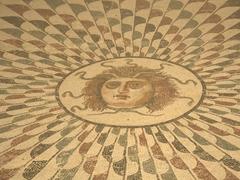 Medusa in mosaic