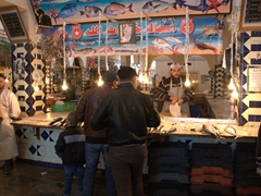 Fish market at Bab el Jedid