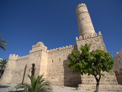 The Ribat is the oldest monument in Sousse medina, built in 8th century AD