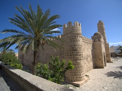 Exterior view of the Ribat