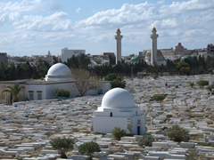 Cemetery adjacent to the Ribat