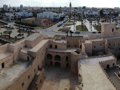 Panoramic view of Monastir's Ribat