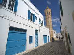 One of Mahdia's many mosques