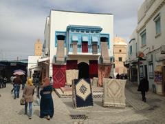 Kairouan carpet shop