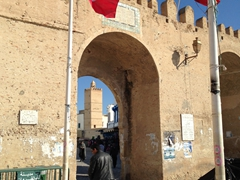 Entrance to Bab ech Chouhada