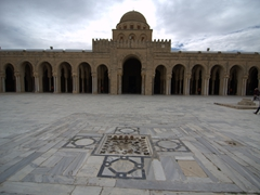 The Great Mosque, considered North Africa's most holy Islamic site