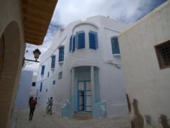 Houses tucked away in the medina