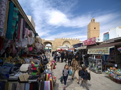 View of Bab Tunis