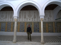 Becky remembering her visit to the Mosque of the Barber over 20 years ago!