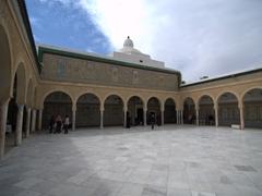 Zaouia of Sidi Sahab's courtyard