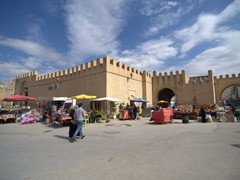 Bab Tunis, the medina's northernmost gate