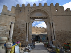 Massive entranceway to the medina