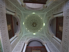 Gorgeous dome inside the Maison du Gouverneur (18th century residence of the former Beys of Kairouan)