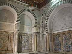 Dar Lasram, an 18th century palace in the medina that is open to visitors (free)