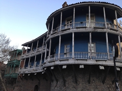 Old wooden houses of Tbilisi