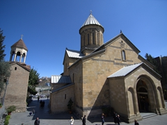 Churches galore in downtown Tbilisi