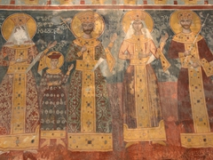 Painted murals (some dating back to the 12th century); Gelati Monastery