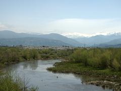 Beautiful scenery near Batumi