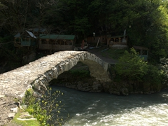 Old bridge; Makhuntseti