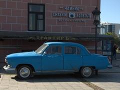 Antique car in Batumi