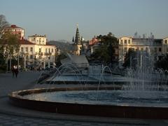 Batumi boulevard view