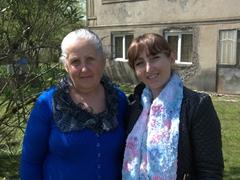 Sofi and her mother; Poti