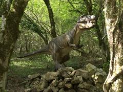 Model of a Tyrannosaurus Rex dinosaur; Sataplia