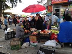 Kutaisi market scene