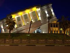 The upside down restaurant; Batumi