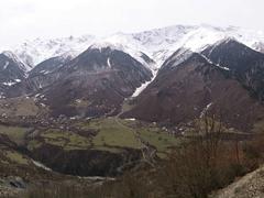Stunning scenery in the Svaneti region of the Caucasus