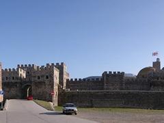 Panorama of Rabati Castle