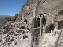 View of Vardzia cave city