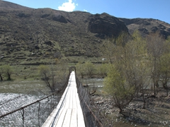 Bridge over the Mtkvari River