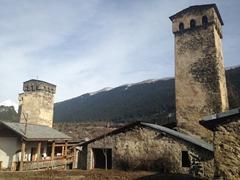 Stone towers galore in Svaneti